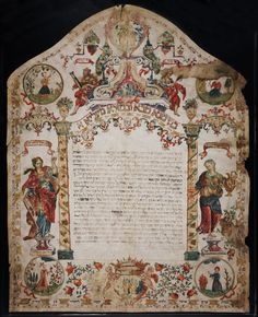 Image Result For Ketubah 1700