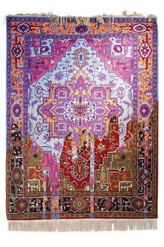 Faig Ahmed maakt handgeweven tapijten met een digitale twist | The Creators Project