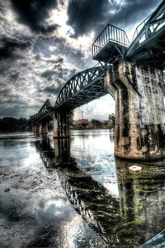 Bridge over the River Kwai, Thailand
