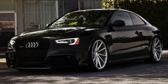 Full Black RS5 on Vossen CVT