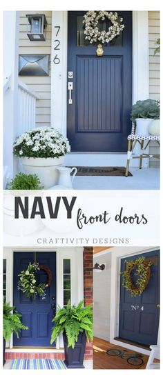 Cottage Front Doors, Front Door Porch, Front Door Entrance, Entry Doors, Front Porches, Porch Entry, House Entrance, Cottage Door, Front Entrances