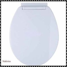 Oval Toilet Seat Slow Soft Close White Bottom Fixing Home Bathroom Accesories Bathroom Accesories, Toilet, Essentials, Ebay, Home, Bathroom Fixtures, House, Homes, Toilets