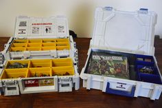 Zombicide, tool box make over for game+all expansions