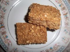Jazzy Allergy Recipes: Egg Free, Dairy Free, Nut Free Baked Oatmeal Breakfast Bars