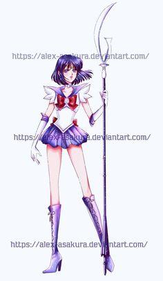 Sailor Saturn - Hotaru by Alex-Asakura on DeviantArt Sailor Moon, Sailor Saturn, Moon Illustration, Wolfenstein, Tomoe, Deviantart, Popular, Crash Bandicoot, Beautiful Things