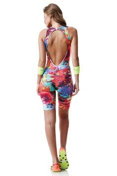 Dani Banani Moda Fitness - macaquinho-flower-power produto 2114 macaquinho