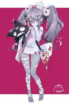 Character Design Girl, Character Design Inspiration, Character Concept, Character Art, Anime Girl Pink, Kawaii Anime Girl, Anime Art Girl, Fantasy Characters, Anime Characters