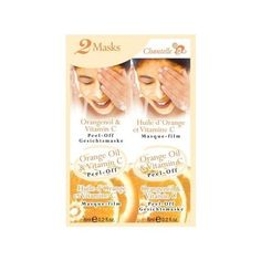 Chantelle Orange Oil & Vitamin C Peel Off Face Masques 2 x 6ml by Chantelle. $1.49. * ALL Orders despatched by PRIORITY 5-7 DAY AIRMAIL! (Regardless of Estimate by Amazon!) *. Peel Off. BUAV & Vegetarian Approved. With real Orange Oil & Vitamin C. 2 Treatments. Peel Away impurities and dead skin with Orange Oil and Vitamin C. The natural ingredients soothe, refresh and restore skin with essential vitamins.