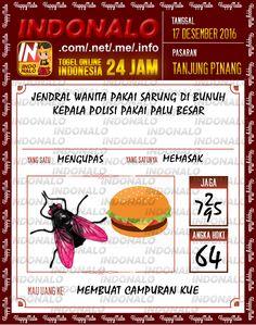 Tafsir Lotre 4D Togel Wap Online Live Draw 4D Indonalo Tanjung Pinang 17 Desember 2016