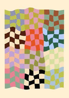 Textile Patterns, Textile Prints, Art Prints, Textiles, Love Backgrounds, Mid Century Art, Grafik Design, Surface Pattern, Wall Collage