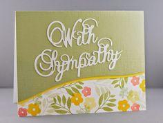 Frantic Stamper Happenings: With Sympathy (Lynn Mangan)