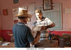 Cubans get their rice from local stores. The rice is never cleaned out so they have to clean it at home by taking out all the small little rocks