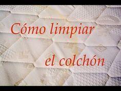 La forma más sencilla de eliminar las manchas te tu colchón sin usar lejía ni cloro.