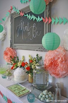 About to host a baby shower? We're here to help you pick a baby shower theme idea. We've listed over 100 theme ideas for your baby shower - everything from Alphabet to Zoo. Coral Baby Showers, Mint Baby Shower, Star Baby Showers, Unique Baby Shower, Baby Shower Parties, Baby Shower Themes, Baby Boy Shower, Baby Shower Decorations, Shower Ideas