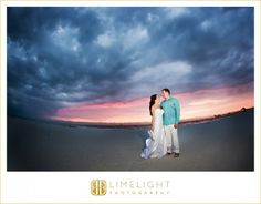 Bride, Groom, Clearwater Beach, Sunset, Wedding, Limelight Photography, www.stepintothelimelight.com