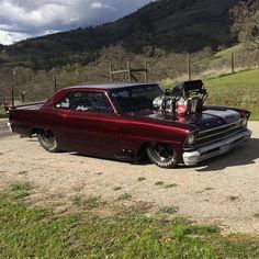 """The Muscle Car History Back in the and the American car manufacturers diversified their automobile lines with high performance vehicles which came to be known as """"Muscle Cars. Muscle Cars Vintage, Vintage Cars, Hot Rods, Chevy Muscle Cars, Cabriolet, Us Cars, Cars Usa, Sweet Cars, Drag Cars"""