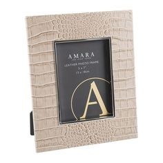 "Discover the Amara Morfe Photo Frame - 5x7"" - Sand at Amara"