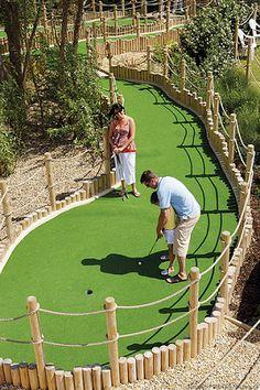 Backyard Golf Course Design backyard golf course by prolawn 2 Miniature Golf Course Design