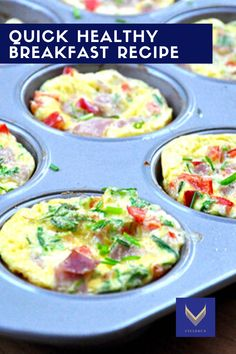 The best way to start the day is with an amazing breakfast. Breakfast means exactly that to break the overnight fast. Try this quick breakfast idea. Healthy Eating Habits, Healthy Lifestyle Tips, How To Cook Mushrooms, Quick Healthy Breakfast, Egg Muffins, Body Cleanse, Gluten Free Diet, Fat Burner, Nutrition Tips