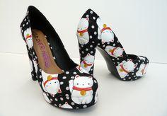 Maneki Neko shoes!