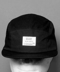Aktuell bei Numelo: die Undefeated Combat Camp Cap in Black - http://www.numelo.com/undefeated-combat-camp-p-24508555.html #undefeated #combatcampcap #baseballcaps #numelo