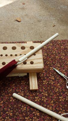 This is one of my favorites on dewberryridge.com: Peg Loom - Warp Loop