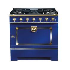 La Cornue Cornufé 1908 Stove Navy Home Magazin Kitchen Oven