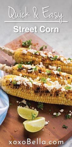 This street style corn on the cob is what you need to try on the BBQ this summer! Perfect meal for summer grilling. If you are looking for a new corn recipe, check this out. It tastes just like authentic Mexican street style corn. #recipes #corn #BBQ