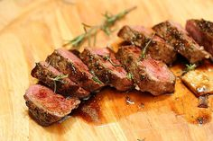 Incredibly flavorful, juicy and easy to make, this Rosemary Garlic Steak and can be grilled indoors too. Get the recipe plus tips for making the best steak ever! Rib Recipes, Steak Recipes, Grilling Recipes, Dinner Recipes, Steak Tips, Recipies, Cookbook Recipes, Cooking Recipes, Great Steak