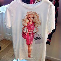 moschino barbie t-shirt
