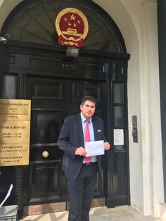 Chinese Embassy Refuses to Accept Petition With 11 Million Signatures to