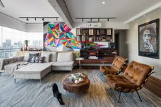 Excellent Photos integrated living room and dining room for young Conceptos, Sala y cocina . Living Roon, Classy Living Room, New Living Room, African Interior Design, Home Interior Design, Interior Decorating, Concept Home, Apartment Design, House Design