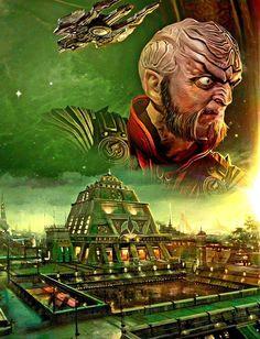 Klingon Empire, Painting, Art, Art Background, Painting Art, Kunst, Paintings, Performing Arts, Painted Canvas