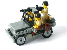 This is my version of the World War 2 Willys Jeep in Lego, this is my 5th version.