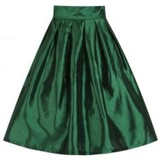 'Marnie' Emerald Green Occasion Skirt