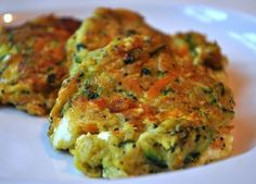A zesty zucchini, carrots, feta veggie patties, used to be the staple of J's diet, B.C. (before carnivore!)! Grate and mix: 1 med zucchini, 2 med carrots, .5 white onion. Add and mix: 1t coriander, .5t cumin, .5t cayenne, .5t curry powder, 2t poppyseed, handful of crumbled feta (go easy on the salt since there's plenty in the feta). Add 1 egg, .25c flour. https://www.facebook.com/photo.php?fbid=10150941933586238
