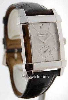 Patek Philippe Gondolo 5111 18K White Gold Mens Watch Box/Papers