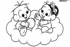 anjinho da turma da monica baby para colorir - Pesquisa Google