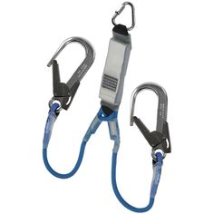 IK1FK xxx Y3 - Twin Legged Kernmantle Rope Energy Absorbing Lanyard