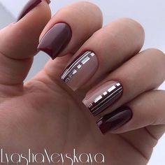 Nail Arts Fashion Designs Colors and Style Classy Nails, Stylish Nails, Cute Nails, Pretty Nails, Acrylic Nail Designs, Nail Art Designs, Acrylic Nails, Art Deco Nails, Nail Design Glitter