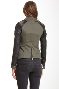 Leather Utility Jacket by Doma on @nordstrom_rack