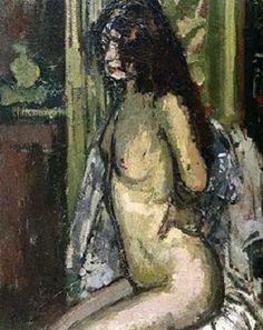 Seated Nude, Paris  - Walter Sickert - 1906 .................#GT