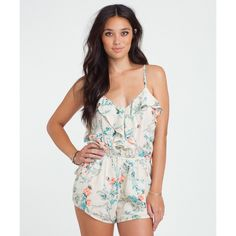 The sweetest of dreams are often filled with color and airy romance. We made this look a reality with the Dream Escape Romper. With a floral print ...