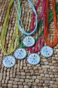 Daisy Girl Scout Troop Necklace Gifts by LaDeDaDesignsShop on Etsy
