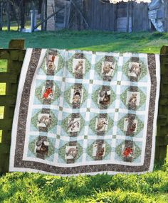 """Tree Houses"" by Sue Harvey and Sandy Boobar (from Quilt Trends Magazine Spring 2014 issue)"
