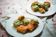 KNUSPERKABINETT: Vegane und glutenfreie Kokos-Blondies mit Papaya- ...
