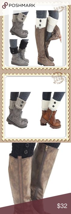 NWT set of three boot socks Super cute and trendy set of three boot socks. Perfect for the season! Accessories