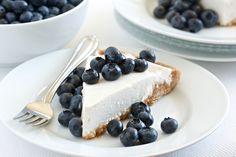 Blueberry Cream Pie (dairy free, grain free) | GI 365