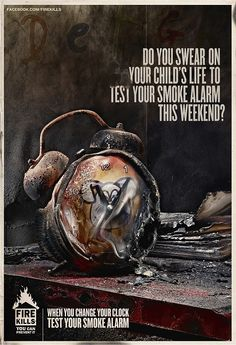 Print ad: Fire Safety: Fire Safety