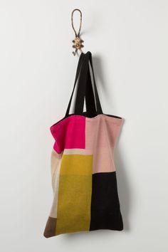 Colorblock Sweater Tote - Anthropologie.com